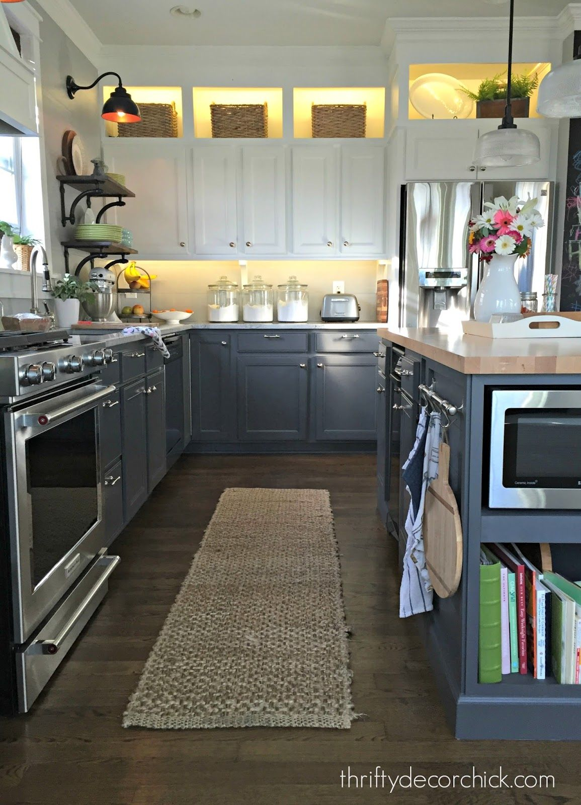 Adding accent lights to cabinets | Above kitchen cabinets ...