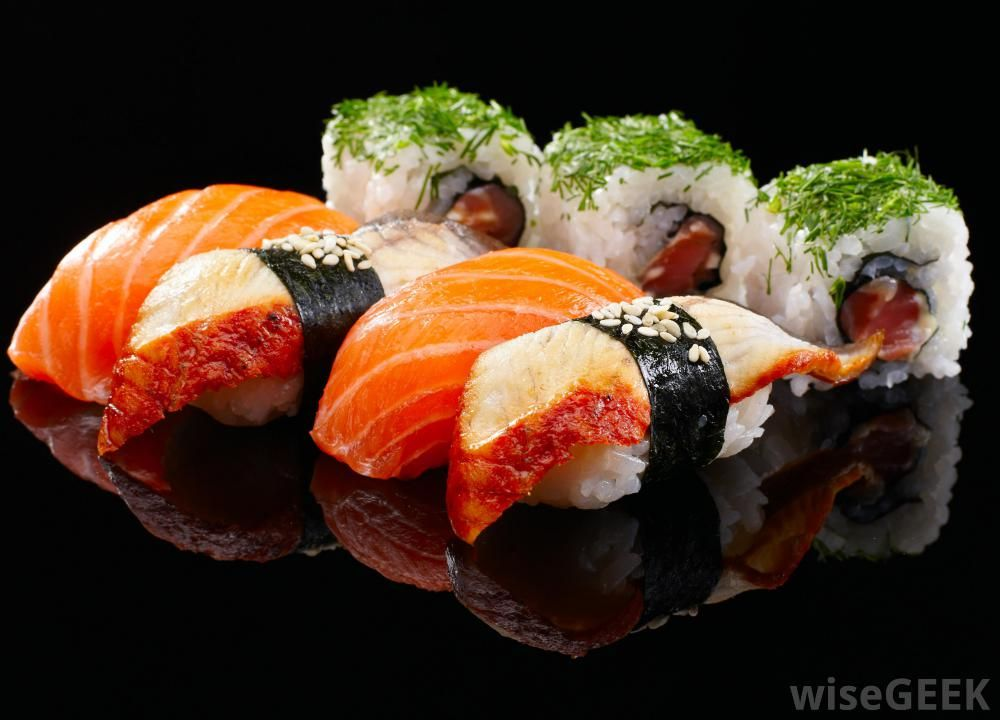 What Are The Different Types Of Sushi With Pictures Sushi Types Of Sushi Rolls Different Types Of Sushi