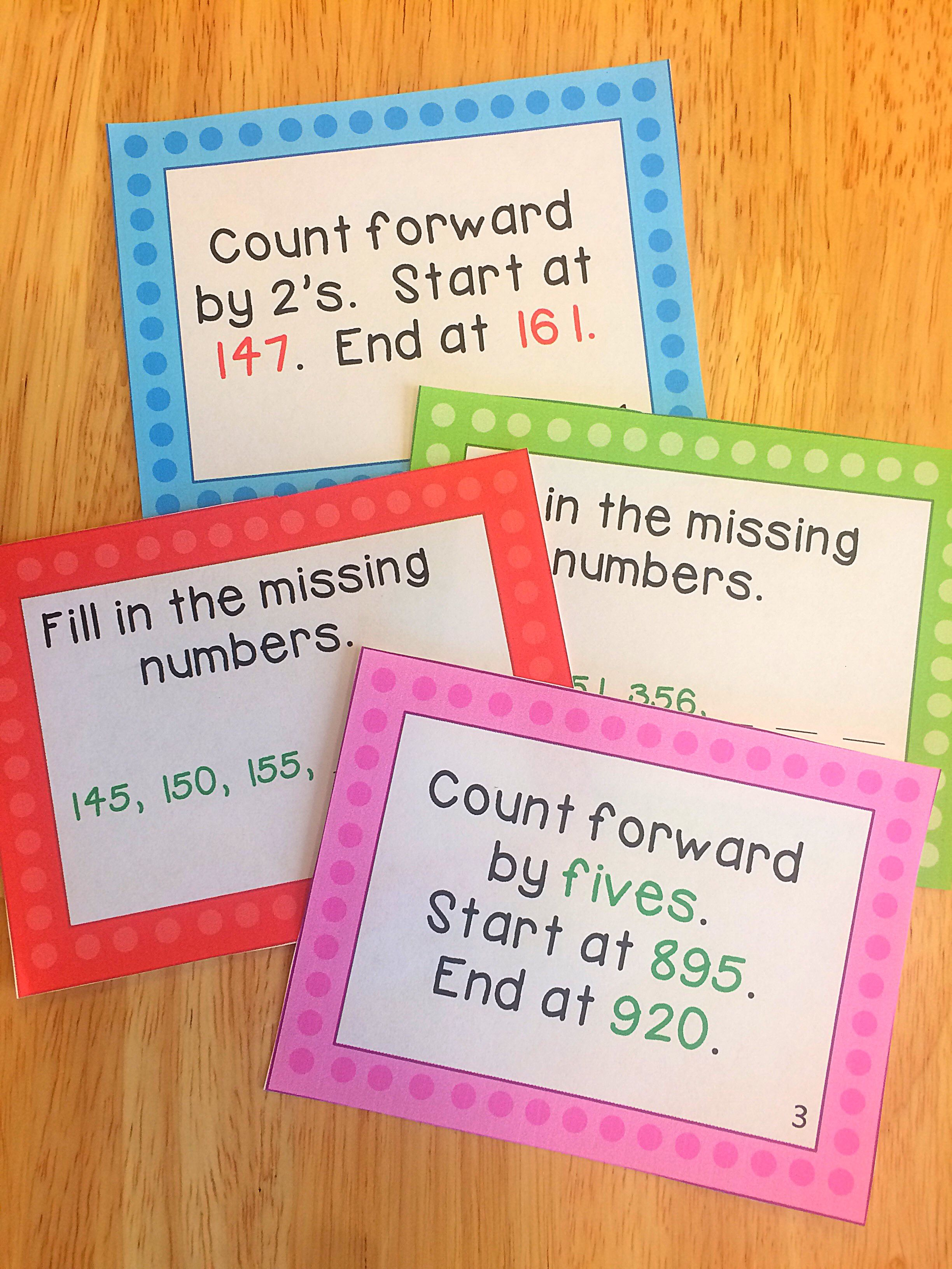 Counting Unit Grade 3
