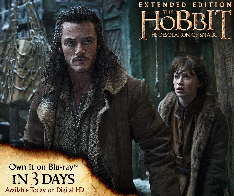 Journey to Erebor like never before. The Hobbit: The Desolation of Smaug...Extended Edition comes home in 3 days.