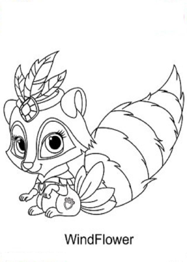 Pin de dibujosparacolorear en dibujos para colorear palace pets ...