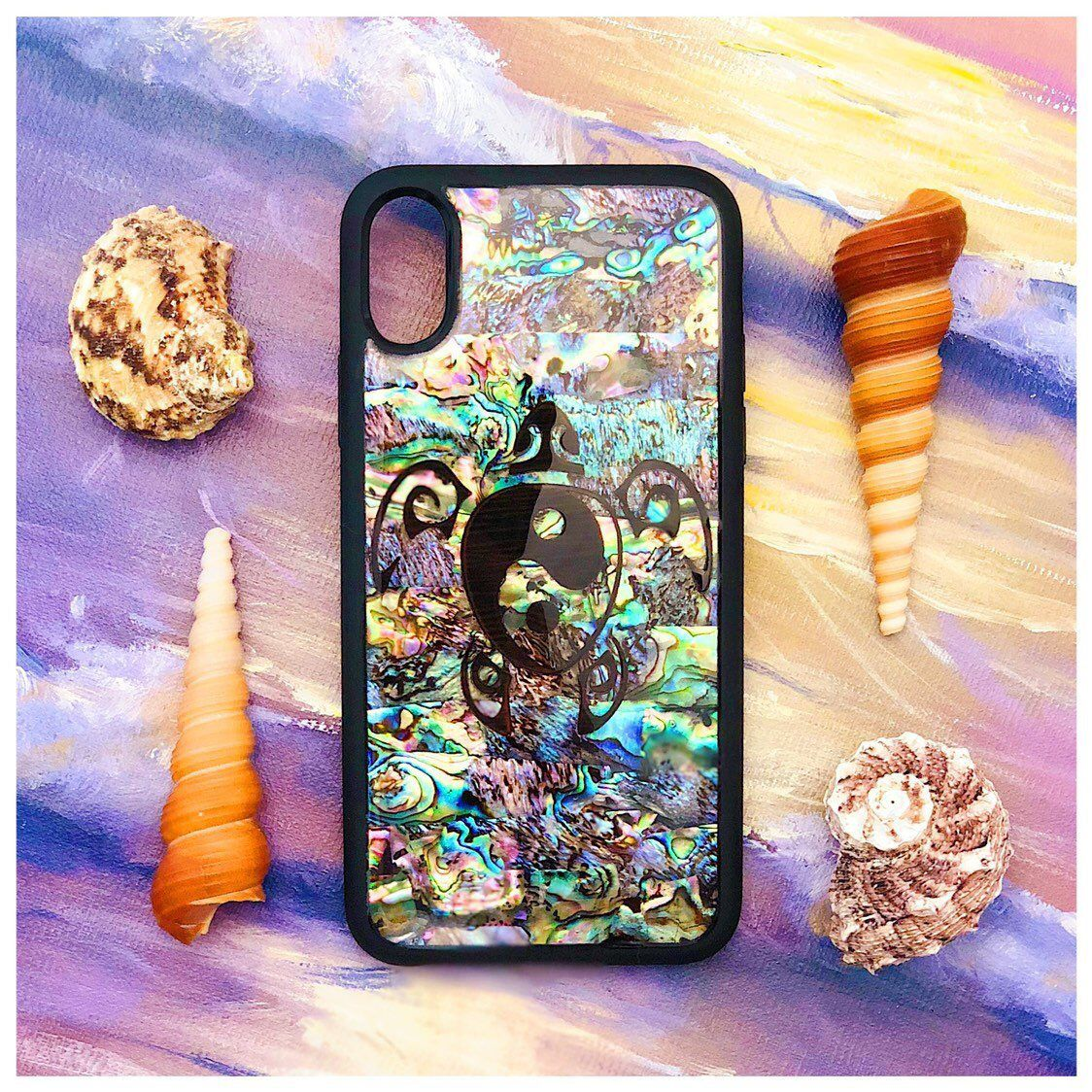 Abalone Shell Paua Shell Seashell Patterns Sea Shells Natural iphone 11 case