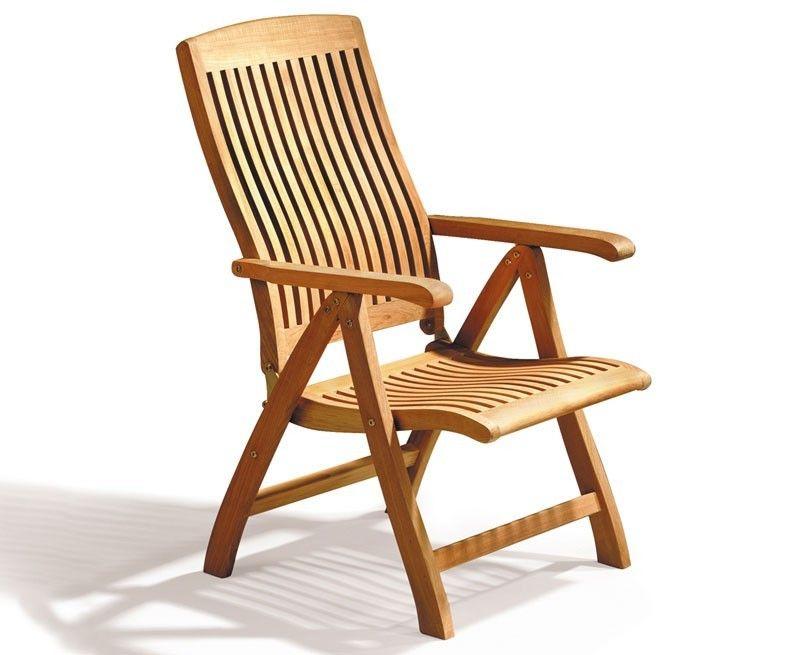 Pleasant Bali Reclining Garden Chair Teak Boating Outdoor Home Remodeling Inspirations Cosmcuboardxyz
