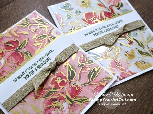 Easy Fine Art Floral Cards & Peek at New Products