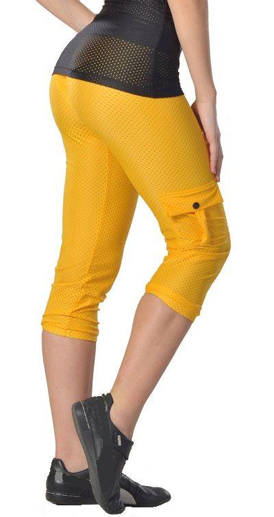 Tiempo Libre 7254 Women Mesh Capri Workout Pants | NelaSportswear ...