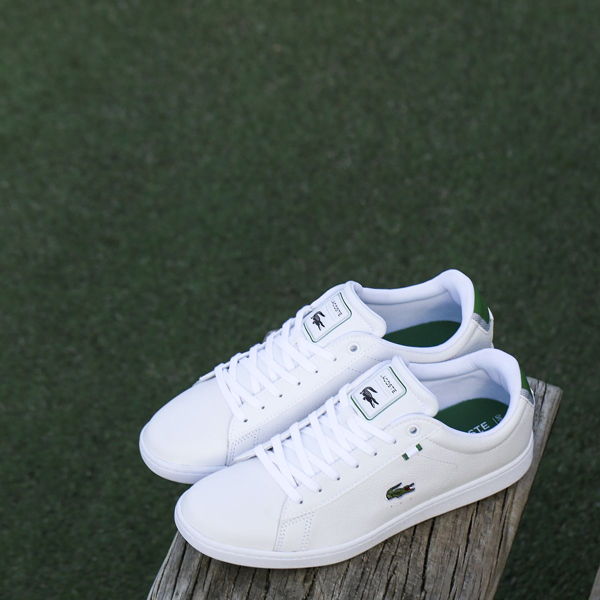 af4d0860d6 Feeling like hitting the tennis court in the Lacoste Carnaby sneakers.  http://