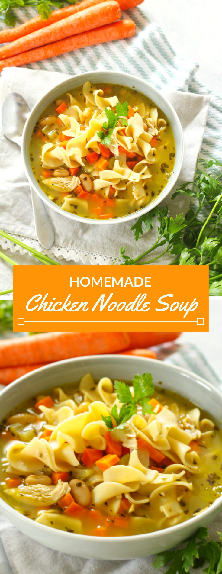 easy homemade chicken noodle soup  recipe with images