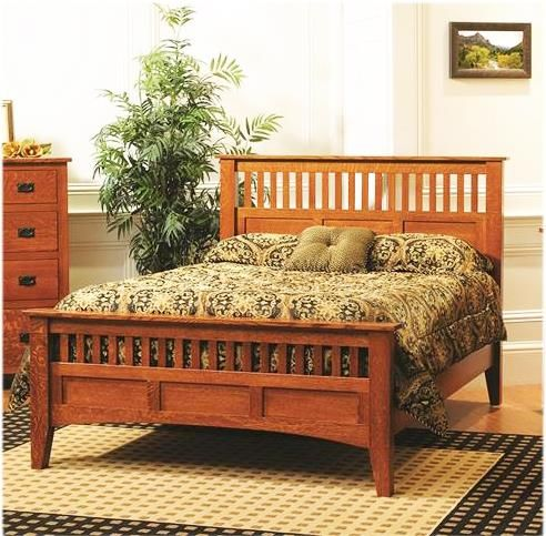 Amish Siesta Mission Bed in 2018 Beds Pinterest Bed, Bedroom