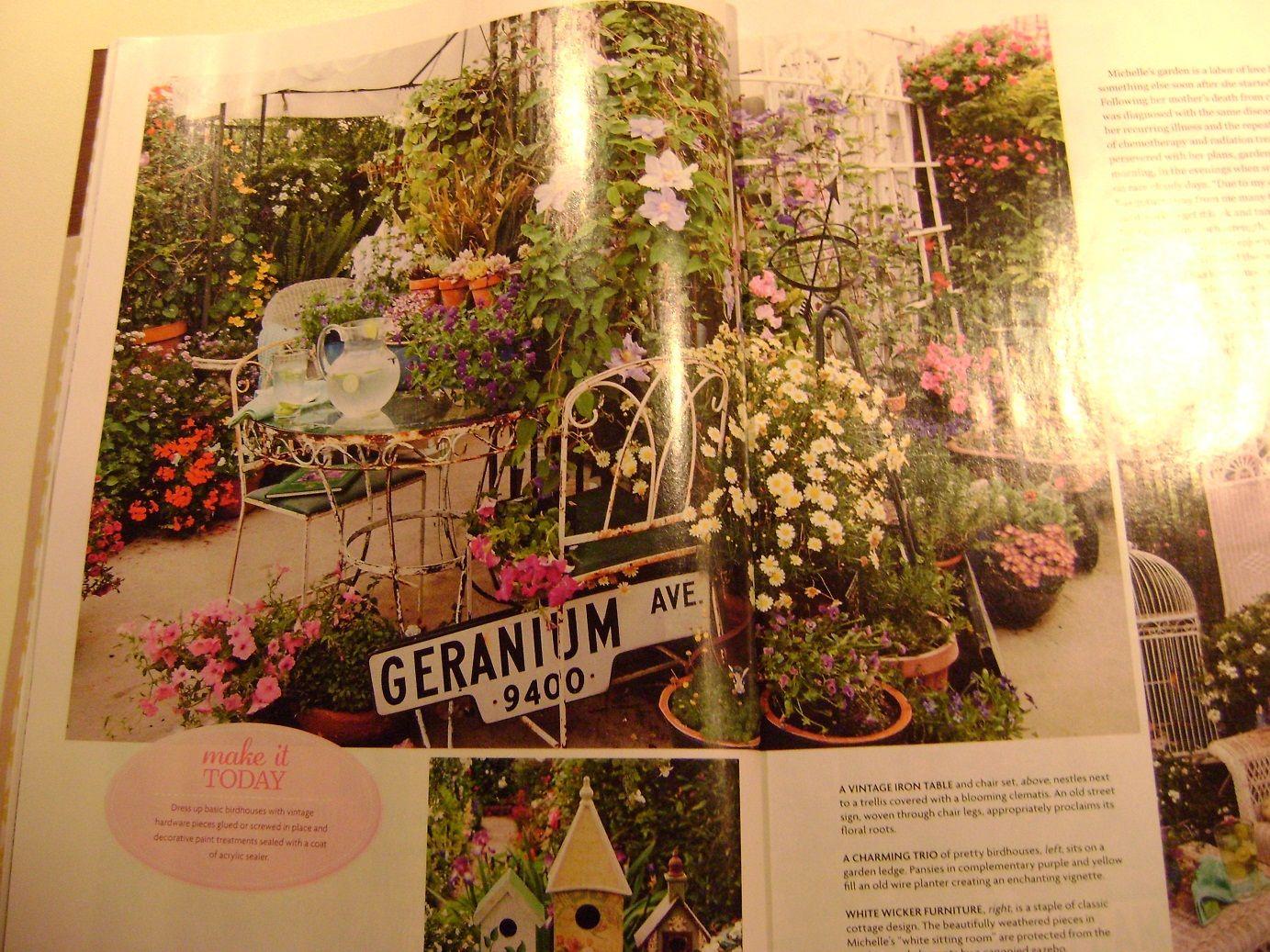 flea market gardening pinterest | Flea Market Garden | Outdoor rooms ...