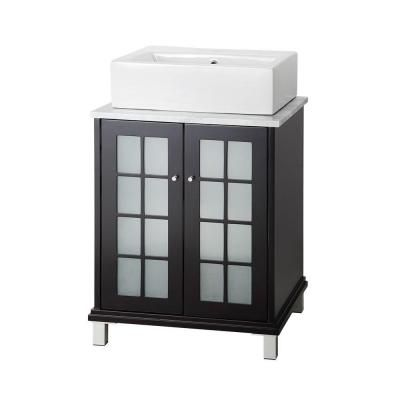 Images Photos Home Decorators Collection Zen in W Bath Vanity in Espresso with Marble Vanity Top in Carrara