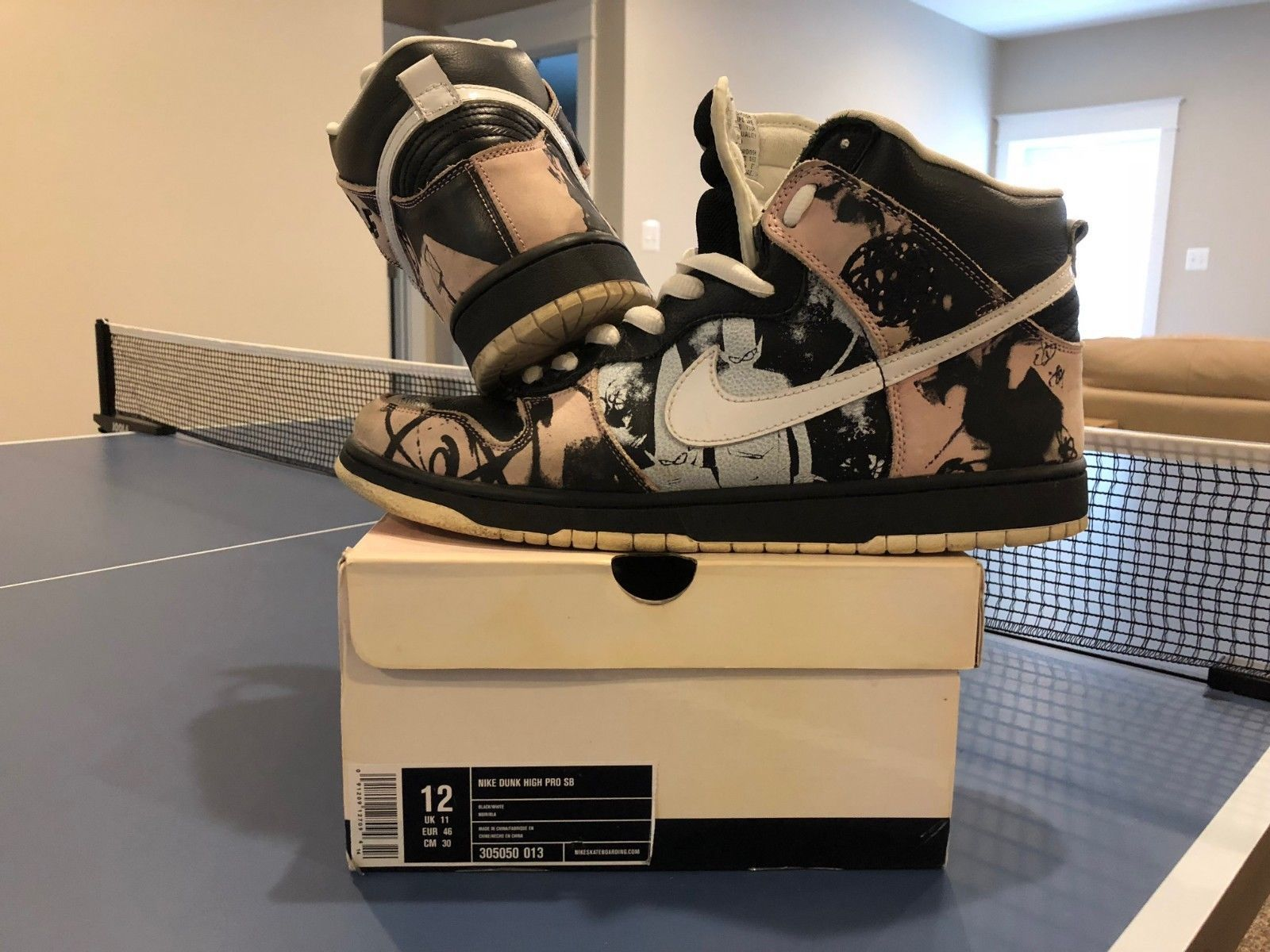 the latest 1beb5 49106 Nike SB Dunk High Unkle 2004 VERY GOOD CONDITION w Box Size 12