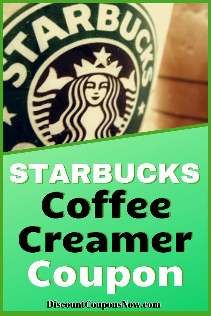 Starbucks Coffee Creamer Coupon Coffee creamer
