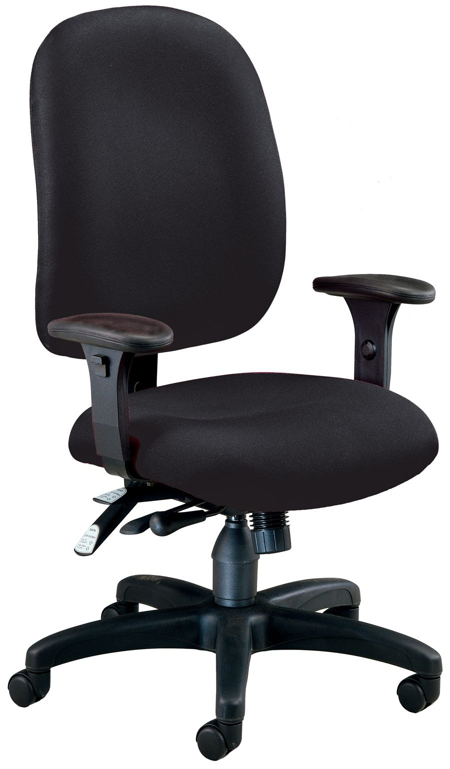 Black Fabric Comfy Seat Ergonomic Executive / Computer