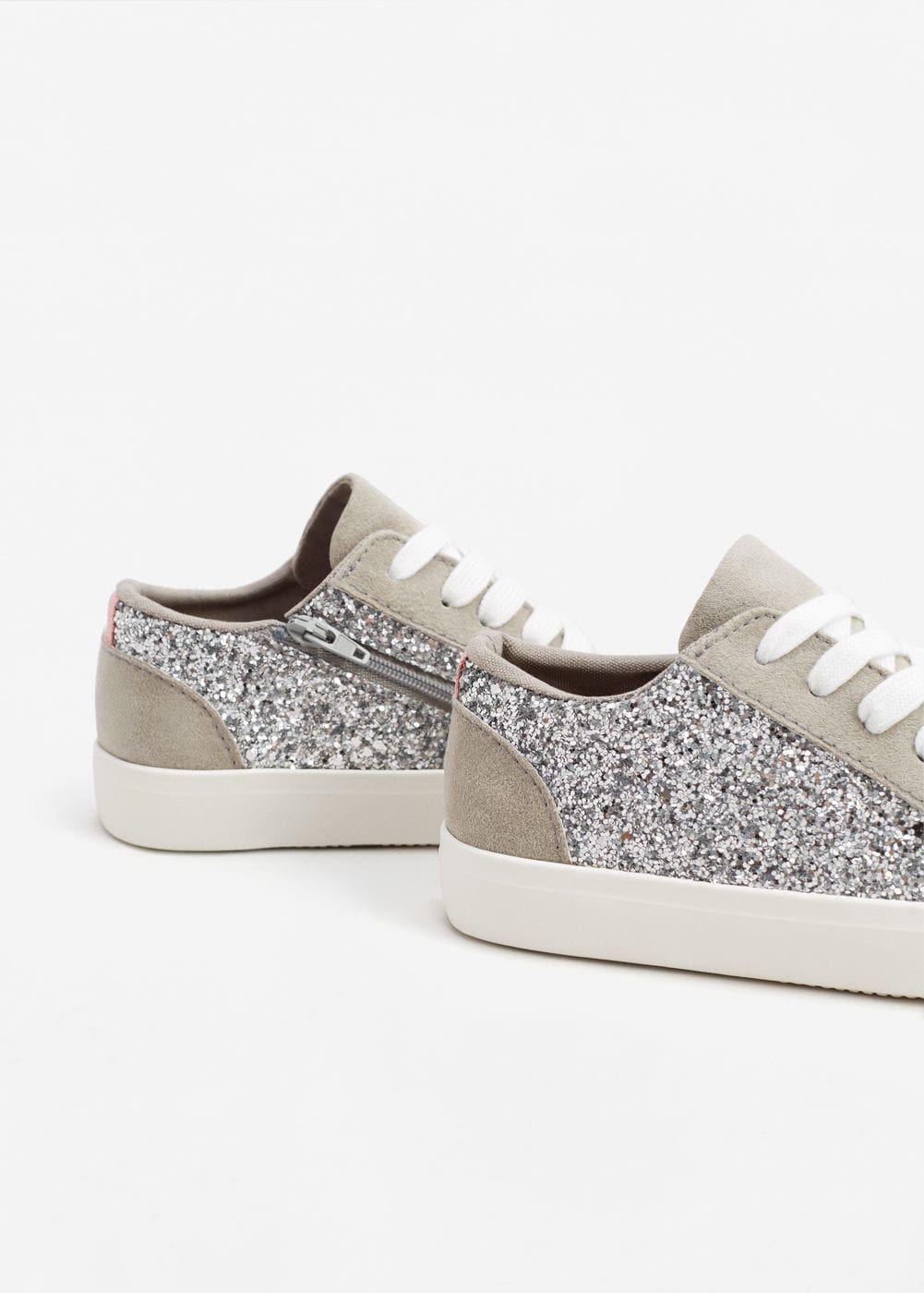 Glitter sneakers - Girls | Mango Kids