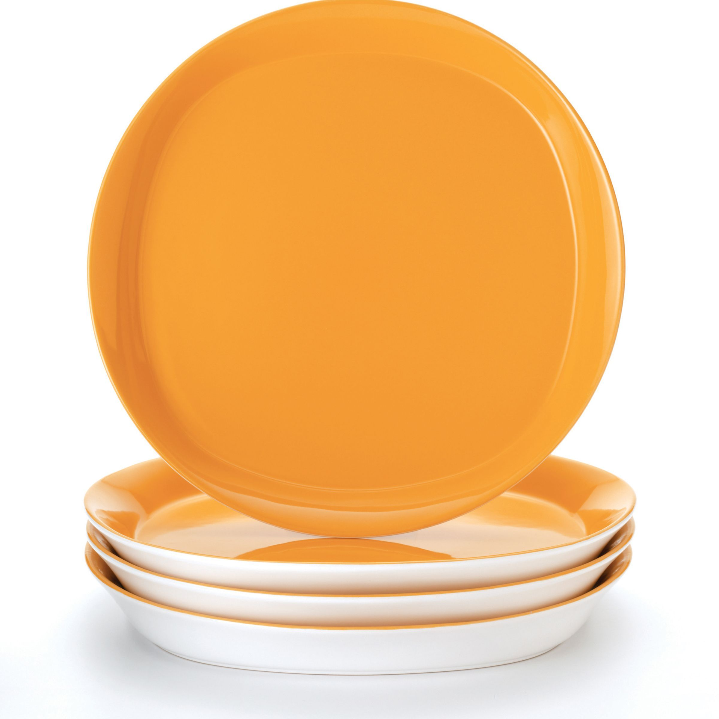 Overstock.com Online Shopping - Bedding Furniture Electronics Jewelry Clothing \u0026 more. Dinner Plate ...  sc 1 st  Pinterest & Rachael Ray Round and Square Lemon Zest\u0027 4-Piece Dinner Plate Set ...