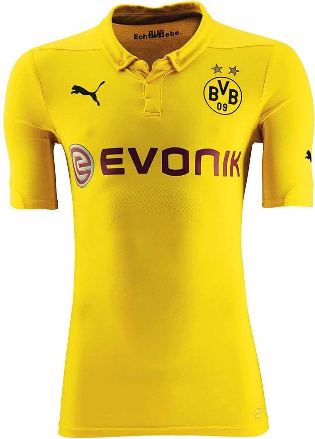 Borussia Dortmund 2014-15 Champions League Home Kit  aa33f494fd668