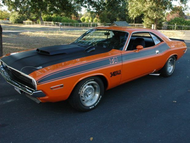 1970 Dodge Challenger T A 340 Six Pack 4 Speed Dodge Challenger Classic Cars Challenger