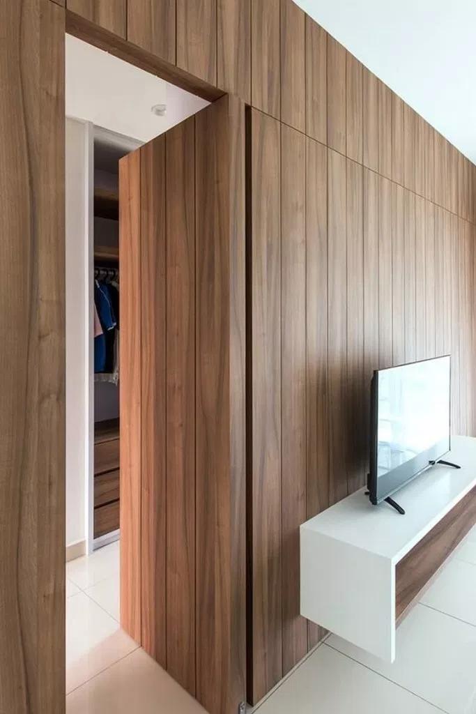 Top 40 Best Hidden Door Ideas Secret Room Entrance Designs For Your House Porta Escondida Design De Casa Design De Interiores Casa