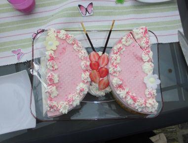 Eistorte-Schmetterling
