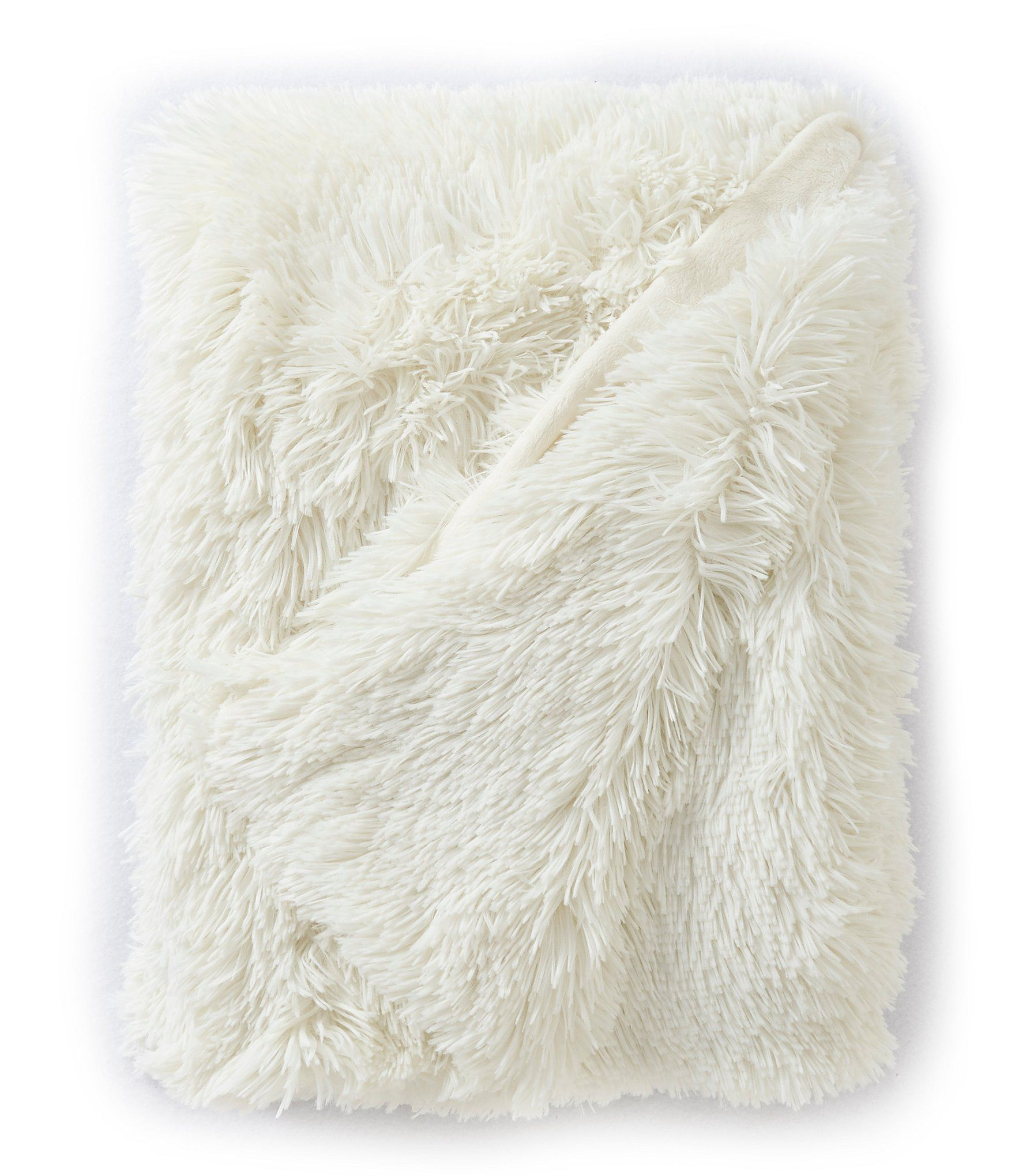 Studio D Shagalicious Lightweight Reversible Throw - Dillards