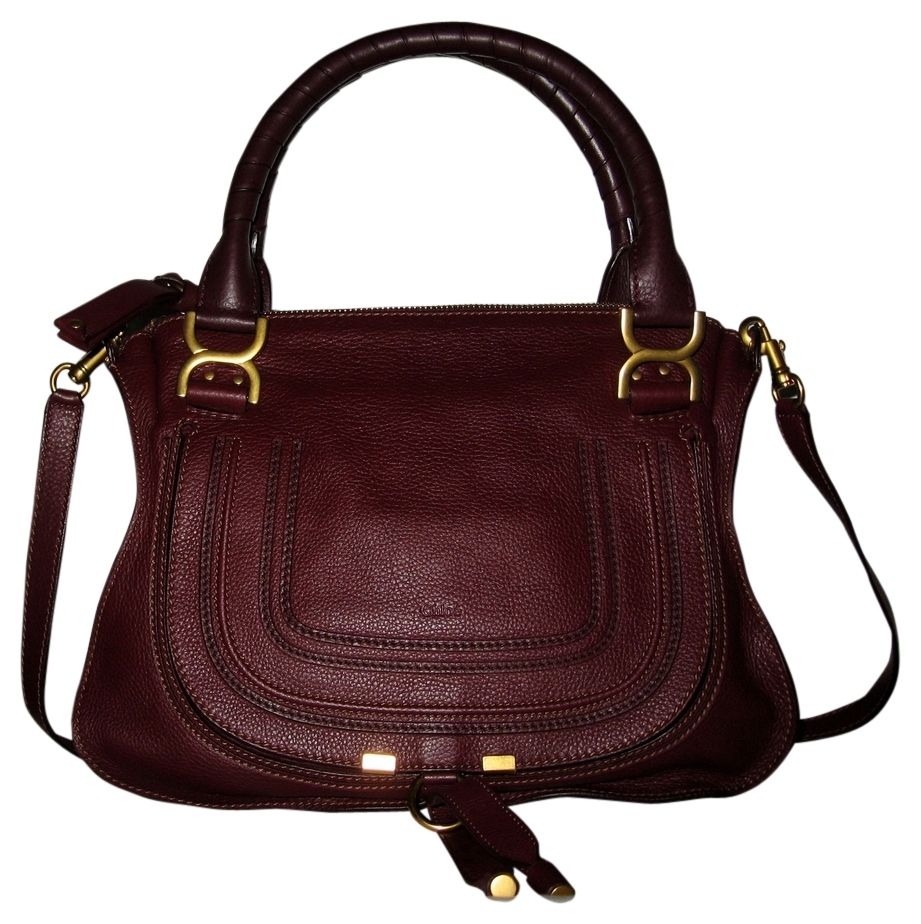 96d15bdc8cbd Save 28% on the Chlo Chloe Marcie Leather Wild Wild Purple Satchel! This  satchel is a top 10 member favorite on Tradesy.
