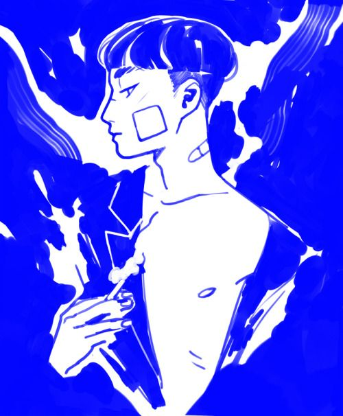 mlysza:  blue