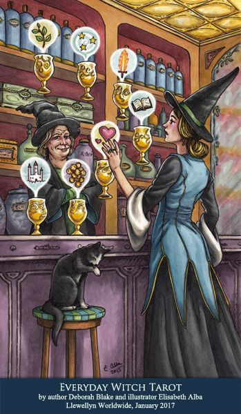 Good Witch Bad Witch Tarot Cards