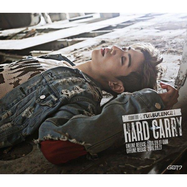 """GOT7 lanza el segundo lote de fotos teaser para su comeback con """"Hard... ❤ liked on Polyvore featuring got7"""