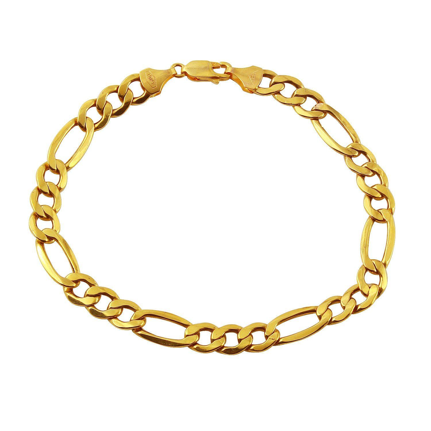 Mens k yellow gold bracelet gold bracelets pinterest diamond