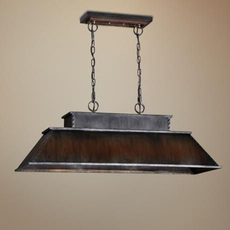 Carolyn Kinder Merchant 3 Light Wide Pendant Chandelier Over Kitchen Island I