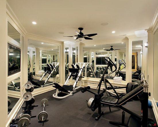 Small Gym At Home Gym Room At Home Home Gym Decor Home Gym Design