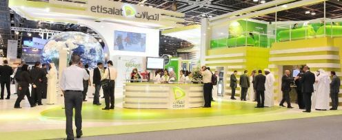 Exhibition Stand Staff Training : Etisalat stand creative feature stands staff training