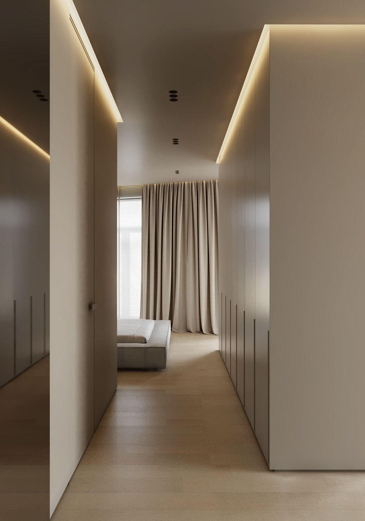 AP I white sand on Behance   Interior ceiling design, Home room ...