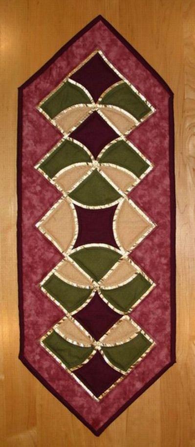Free Quilt Patterns Table Runner | tablerunners | Pinterest ... : free quilting patterns for table runners - Adamdwight.com