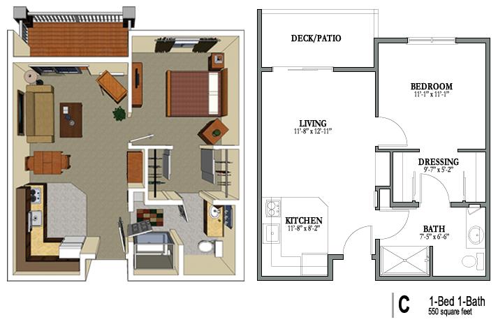 Crestview Floor Plans