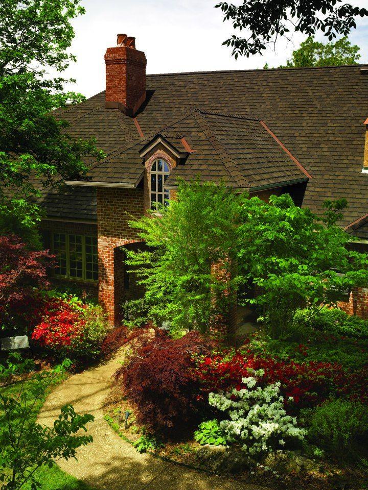 Best Gaf Camelot Ii Barkwood House Gaf Asphalt Roofing In 640 x 480