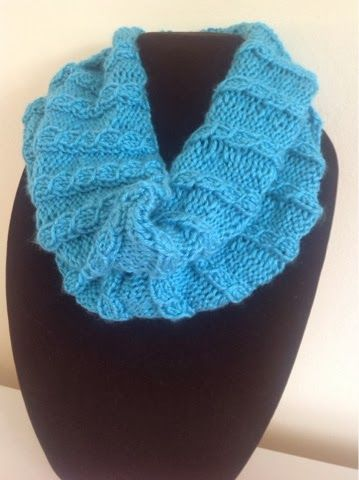 Mock Cabled Cowl | Cowl knitting pattern, Knit cowl ...