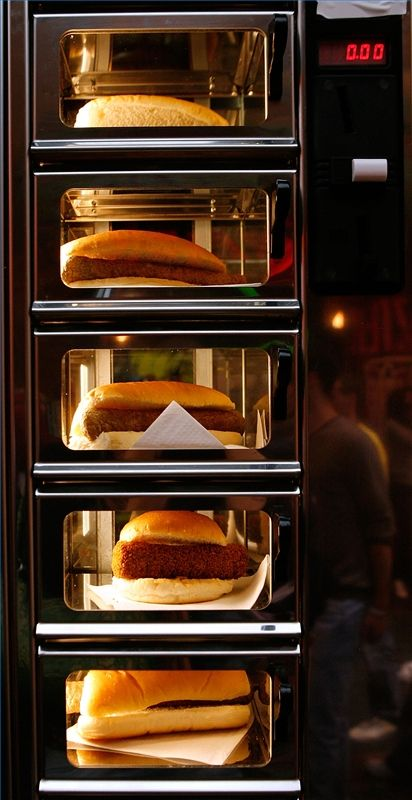 Why Are Vending Machines Good? | Hot meals, Food vending ...