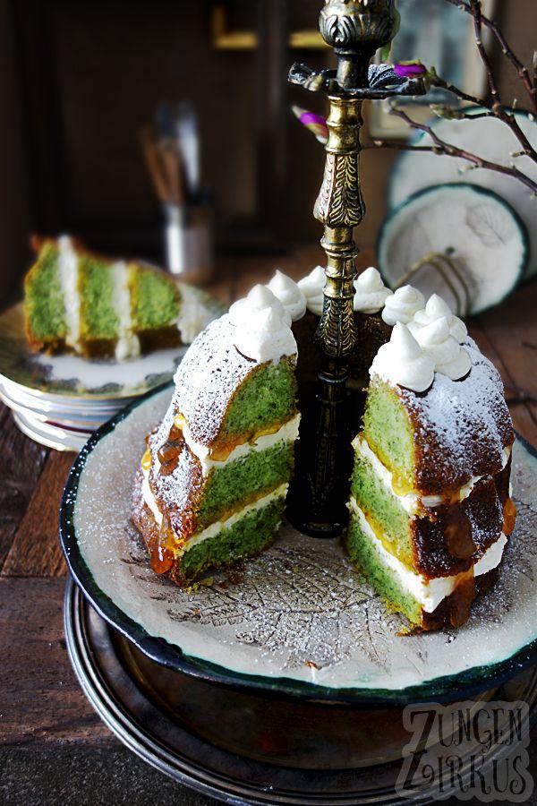 Gugelhupf Mit Spinat Und Mascarponecreme Spinatkuchen Kuchen Rezepte Ohne Zucker Und Kuchen Und Torten
