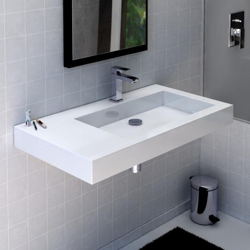 waschbecken mit ablage handwaschbecken ablage waschbecken. Black Bedroom Furniture Sets. Home Design Ideas