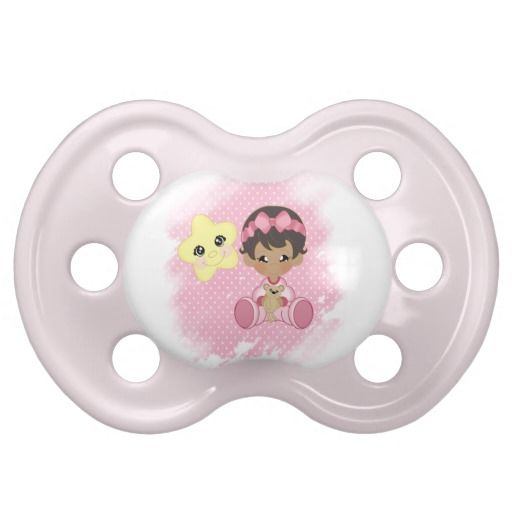Good night baby girl baby pacifiers