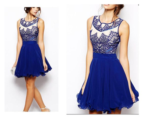 Collection Blue Summer Dresses Pictures - Reikian