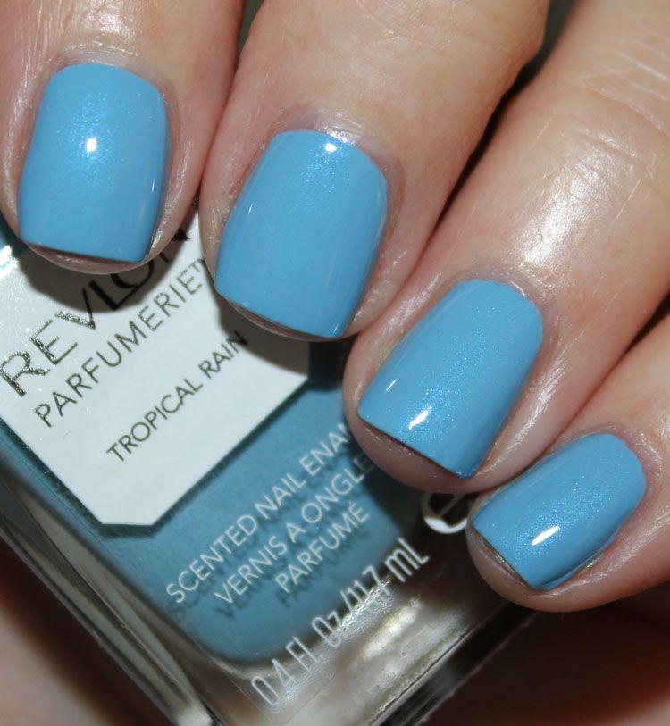 Revlon Parfumerie Scented Nail Enamel in Tropical Rain & Balsam Fir ...