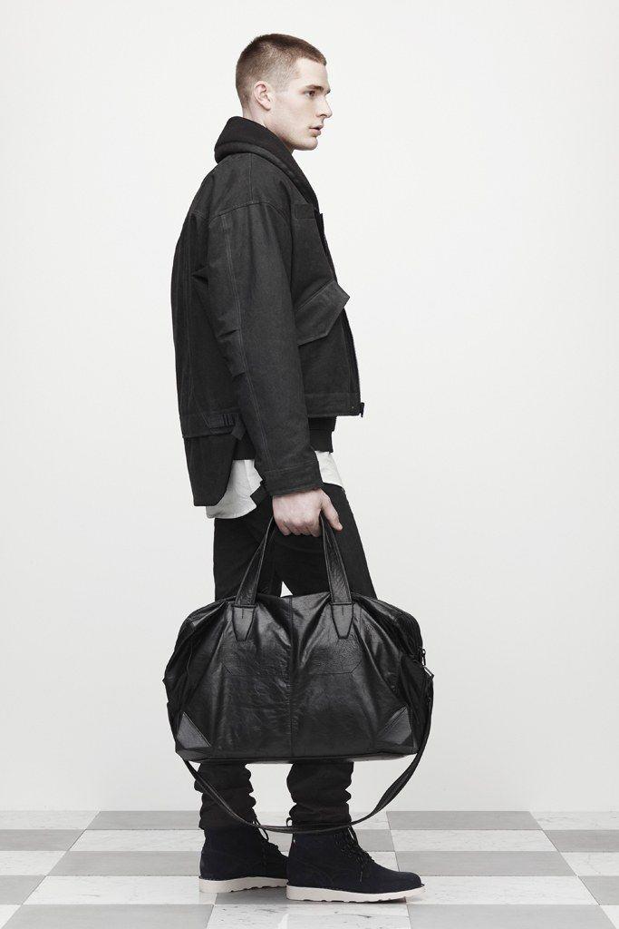 Alexander Wang Fall 2012 Menswear Fashion Show