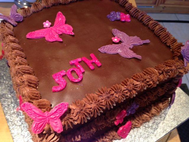 Female 50th Birthday Cake Heavenly Cupcakes Laura Lenaghan