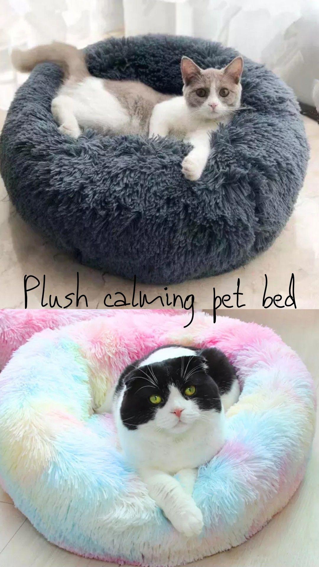 Snuggle Buddy Bed Dog bean bag, Cat leash, Plush pet bed