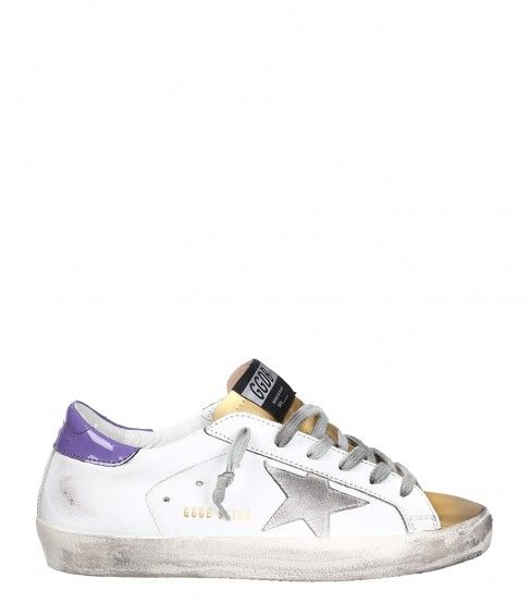 Exclusif À Mytheresa.com - Chaussures De Sport En Cuir Superstar Oie D'or tuHQGXvux