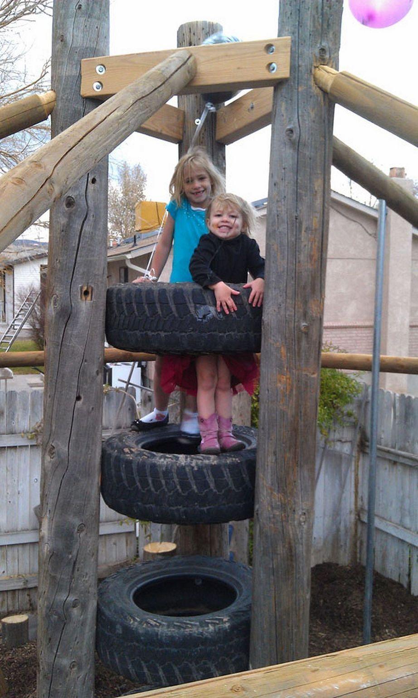 50 awesome simple diy backyard playground ideas   Funny ...