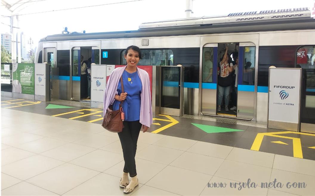 Antusiasme Warga Jakarta Sambut Mrt Jakarta Mesin Cetak Transportasi Umum Jam Sibuk