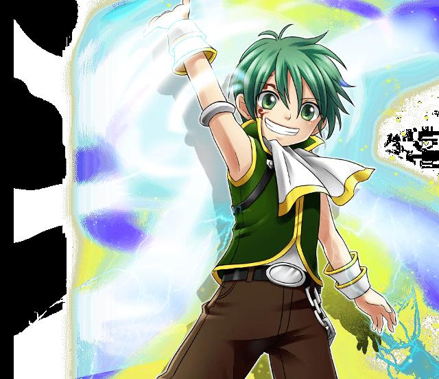 Niebel a.k.a. Sieg Junior Rave master, Rave, Anime